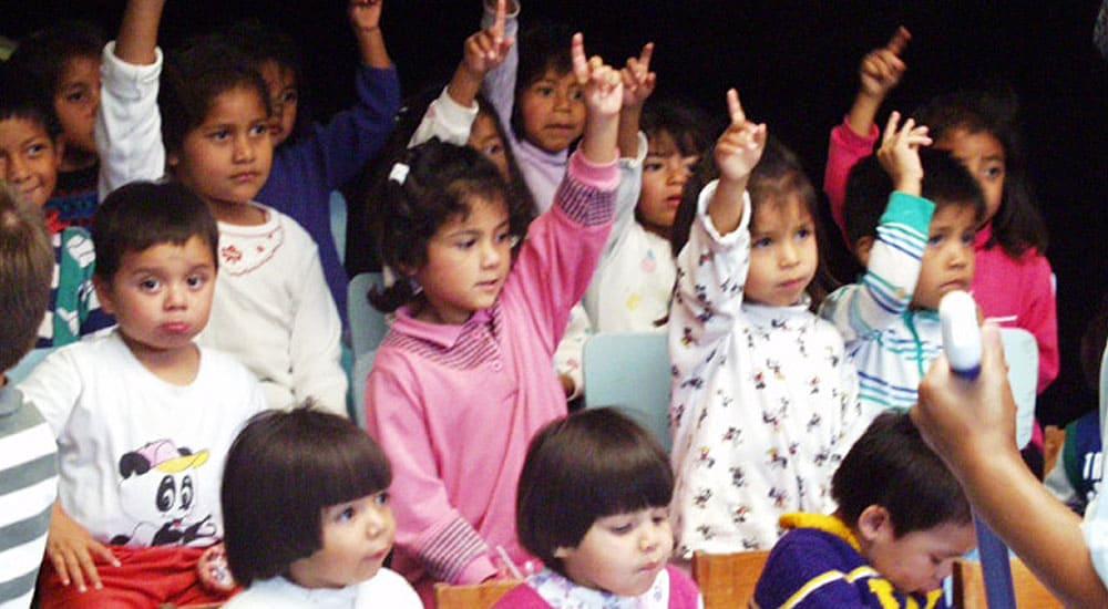 Schulanfang im Kinderdorf Los Pinos, Guatemala