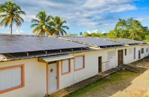 Eigene Strom mit Solarpanels im Kinderdorf Las Palmas