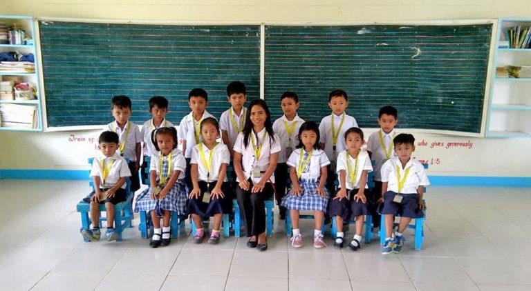 Kinderdorf auf den Philippinen, Unetrricht, Bildung fördern, Spenden für Grundschule