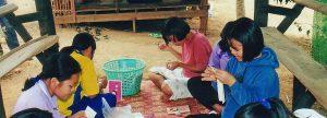 Treffpunkt Dorfzentrum Kinderdorf Thailand