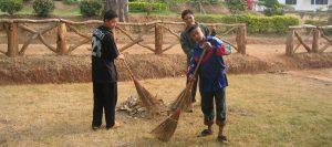 Alltag im Kinderdorf Thailand