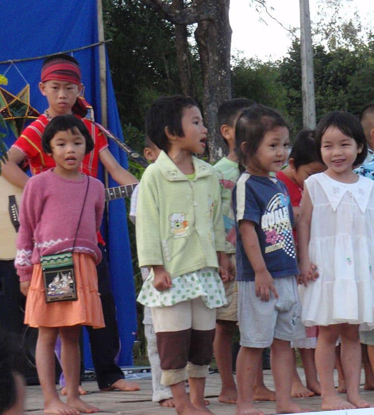 Musik macht gesund, Kinderdorf Thailand