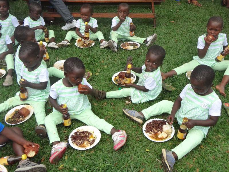 Lebensmittel für das CFI-Kinderdorf in Kongo: Jetzt spenden