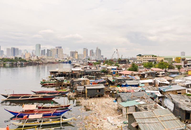 Philippinen - Kontrast zwischen arm und reich, CFI-Kinderhilfe