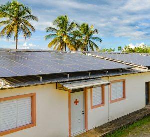 Solarpanels für Kinderdorf DomRep